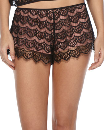 Georgina Lace Shorts