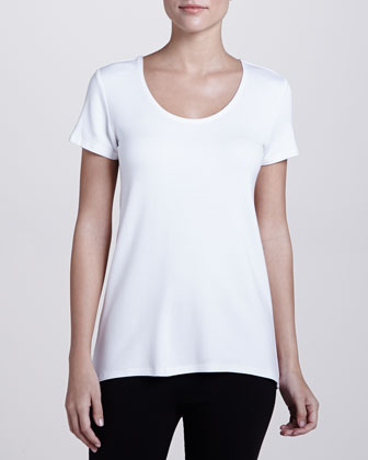 French Terry Lounge Tee, White