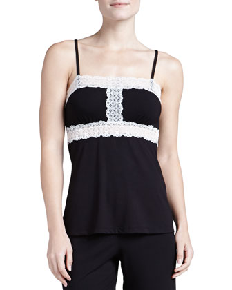 Mora Lace-Trim Camisole & Crop Pants