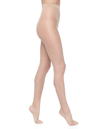 Luxe 9 Open-Toe Sheer Tights