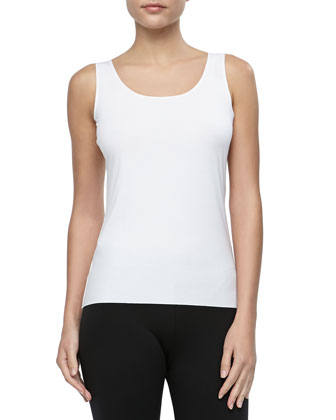 Pure Tank Top, White