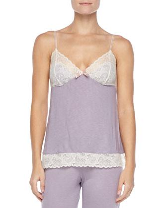 Iris Lace-Trim Camisole