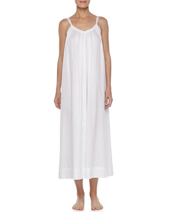 Grecian Long Batiste Gown