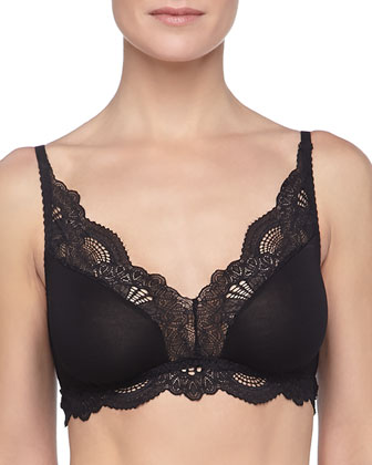Belle Epoque Lace-Trim Bralette