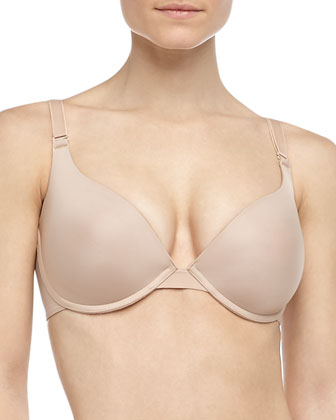 Three-Way Convertible Memory Foam Bra, Nude