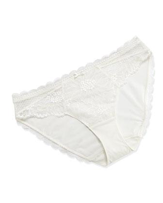 Opera Lace Bustier Camisole & Bikini Briefs