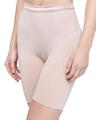 Slimmer and Shine Mid-Thigh Shaping Briefs