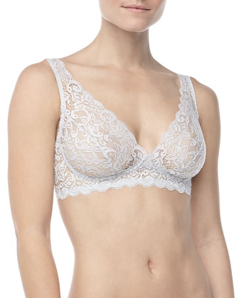 Luxury Moments Lace Soft Bra, Titan