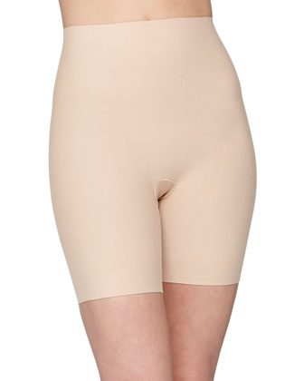 Seamless Cotton Control Shorts, True Nude