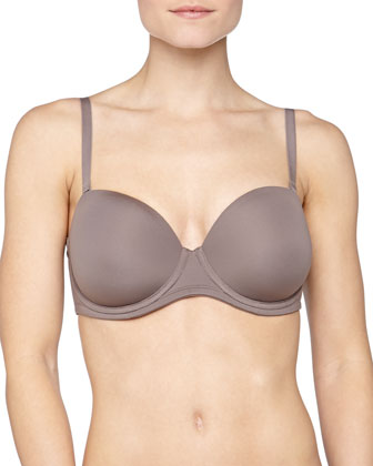 Red Carpet Full Figure Convertible Strapless Bra, Cappuccino