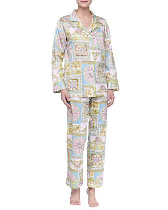 Ciao Bella Sateen PJ Set