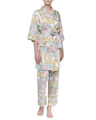 Ciao Bella Sateen Kimono Robe