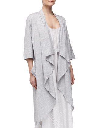 Pima Cotton Oversized Cozy, Gray