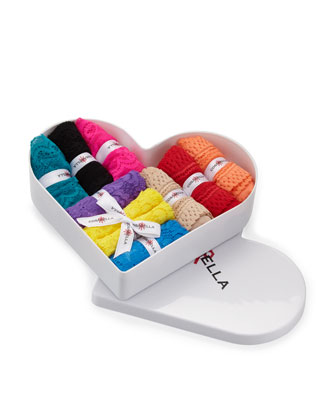 World Of Cosabella 9 Piece Heart Gift Box Set