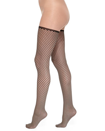 Niki Mini Checkerboard Tights