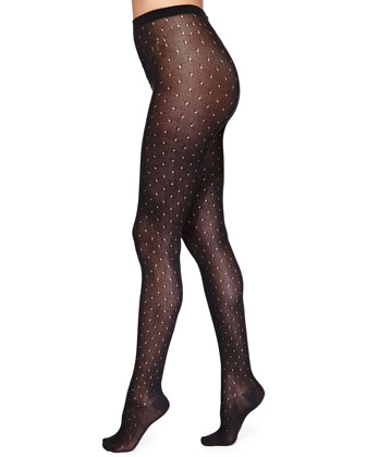 Alyssa Pointelle Sweater Tights
