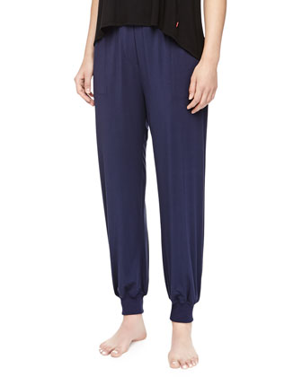 Amp'd Cuffed Drawstring Pants, Midnight