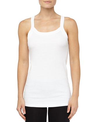 Josie Perfect T Camisole, White
