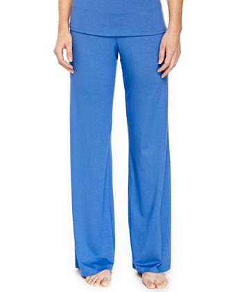 Talco Long Jersey Cami & Soft Jersey Pants, Zaffiro