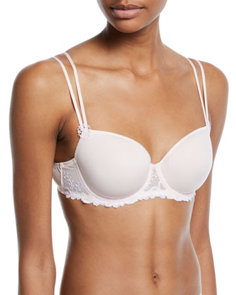 Delice Embroidered 3D Molded Bra