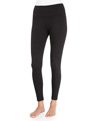 Ponte Leggings, Charcoal Heather