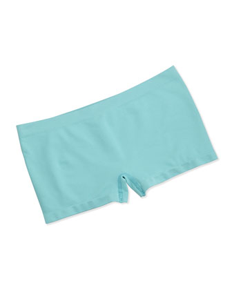 Touch Feeling Low-Rise Boyleg Briefs, Arctic Turquoise