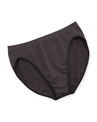 Touch Feeling High-Cut Briefs, Grafite
