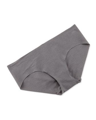 Seamless Cotton Bikini Briefs