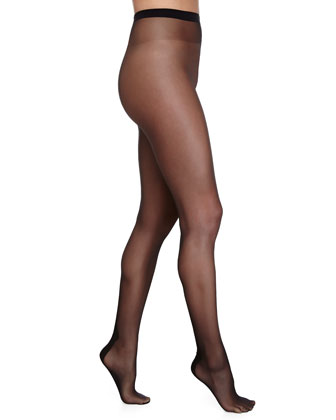 Flavia Zig-Zag Seam Sheer Tights