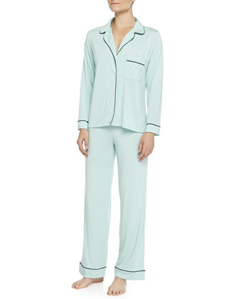 Gisele Long Pajama Set, Peppermint
