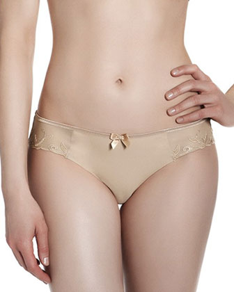 Andora Cotton-Blend Bikini Briefs