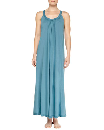 Long Pima Cotton Nightgown