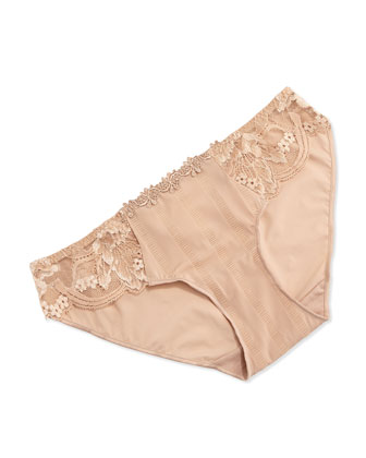 Amour Lace Bikini Brief, Nude