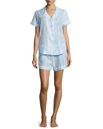 Short Sheer Cotton Pajamas