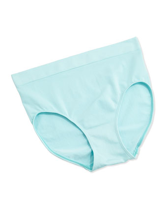 Sensibility Soft-Cup Underwire Bra & Bikini Briefs, Plume