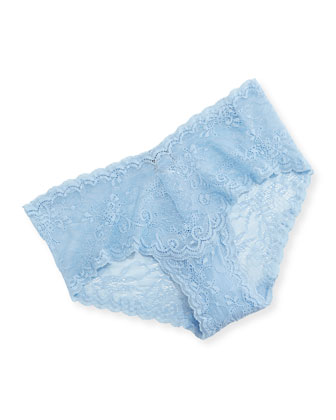 Trenta Basic Soft Bra & Trenta Low-Rise Lace Hotpants, Caspian Sea