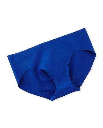 Cotton Bikini Briefs, Santorini Blue