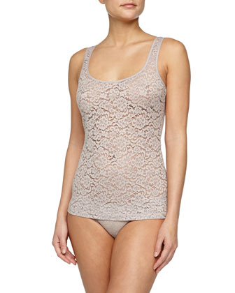 Messina Stretch-Lace Tank & Bikini Briefs
