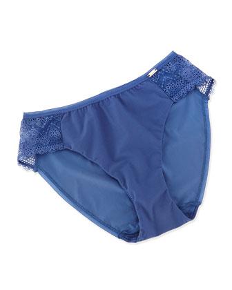 Mademoiselle Memory Foam T-Shirt Bra & Briefs, Blue Jean