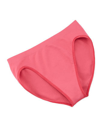 Touch Feeling Tank & High-Cut Briefs, Deep Pink