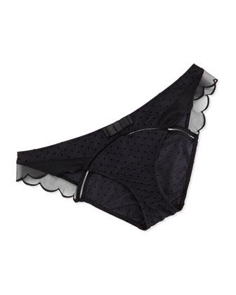 Irresistible Low-Waist Bikini Briefs, Noir