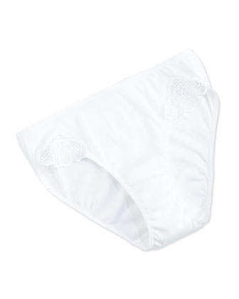 Savona High-Cut Brief, White
