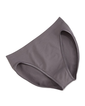 Touch Feeling High-Cut Brief, Sparrow