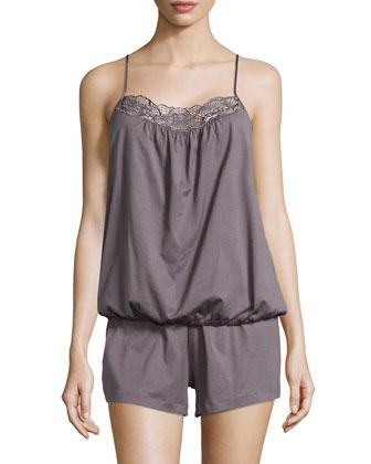 Savona Short Pajama Set, Sparrow