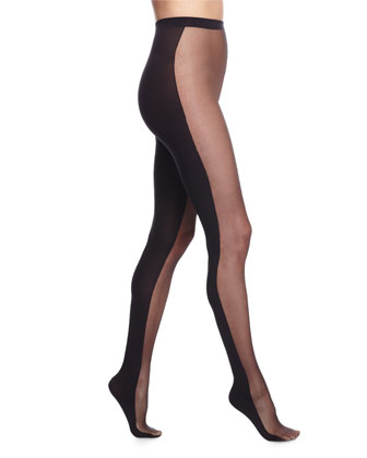 Abigail Tights with Opaque Back