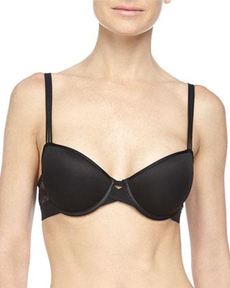 Mademoiselle Memory-Foam T-Shirt Bra & Bikini Brief