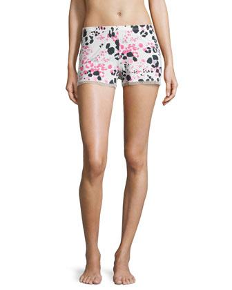 Pink Panther Pajama Boxer Shorts, Candy Pink