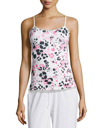 Pink Panther Pajama Camisole, Candy Pink