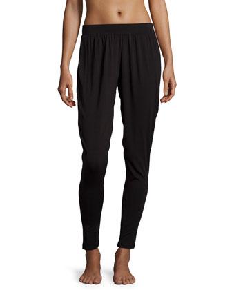 Orsay Knit Jogger Pants, Black