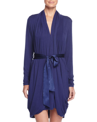 Whispers of Love Short Robe, Twilight